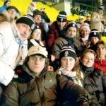 Foto di Gruppo allo Stadio di Vienna