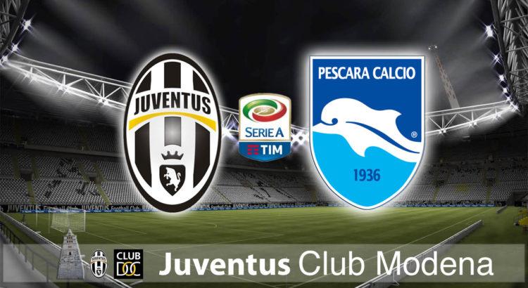 Juventus vs Pescara